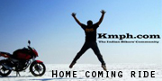 Home coming ride by Ramneek Singh